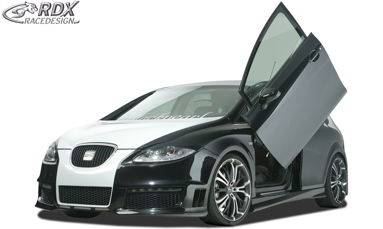 seat leon 2 1p 2005 2009 rdfs098 paragolpes delantero. Black Bedroom Furniture Sets. Home Design Ideas
