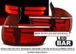 "BMW X5 (E70) 03.2007/05.2010 (REF:LDBME2) Pilotos ""LED-BAR"" Rojo/Claro"