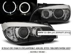 BMW X1 (E84) 10.2009/07.2012 (LPBME0) Faros Angel Eyes HighPower LEDs Negros