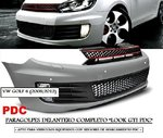 "GOLF 6 2008/2012 (Ref:ZPVW08) Paragolpes Delantero Completo ""LOOK GTI PDC"""