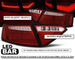 AUDI A5 2007/06.2011 (Ref:LDAUE2) Pilotos LED-BAR Rojo/Claro