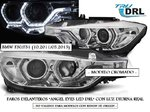 OFERTA 11-11 !! BMW F30/F31 10.2011/05.2015 (Ref:LPBMI7) Faros ANGEL EYES LED DRL Cromados
