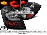 "SKODA FABIA II 2007/06.2014 (LDSK09) Pilotos ""LED/BAR"" Negros"