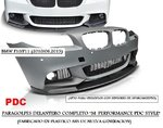 "BMW F10/F11 2010/06.2013 (ZPBM50) Paragolpes delantero ""M-PERFORMANCE PDC STYLE"" (Fabricado ABS)"