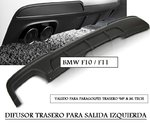 "BMW F10 / F11 MP (REF:ZTBM43) Difusor trasero ""SINGLE OUTLET TWIN MUFFLE"""