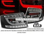 "AUDI A6 C6 SEDAN 04.2004/2008 (REF:LDAUC4) Pilotos ""LED/BAR"" Negros (7 PINs)"