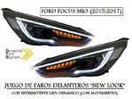 "FORD FOCUS MK3 2015/2017 (REF:PIL4119) Faros ""NEW LOOK""con Intermitente LEDs Dinamico"
