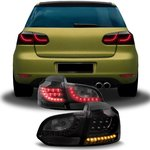 "VW GOLF 6 2008/2012 (Ref:82906) Pilotos ""NEW LED STYLE"" Ahumados"