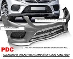 "MERCEDES GLE ""W166"" 2015+ (Ref:ZPME27) Paragolpes Delantero ""LOOK AMG PDC"""