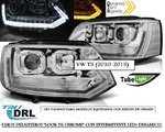 "VW T5 2010/2015 (Ref:LPVWT1) Faros ""LOOK T6 CHROME"" con Intermitente Dinamico"